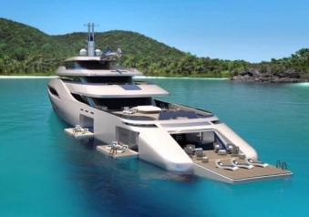 Ottantacinque by pininfarina lussuoso yacht da 85 metri for Arredamento yacht
