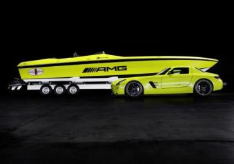Concept Cigarette AMG Electric Drive e SLS AMG Electric Drive