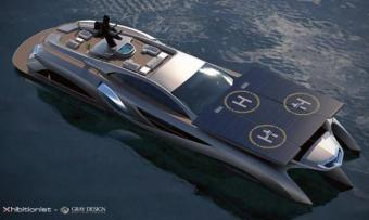 Gray Design Xhibitionist concept Superyacht 011