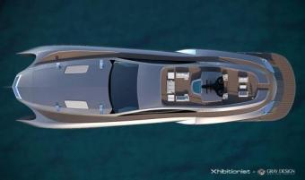 Gray Design Xhibitionist concept Superyacht 044