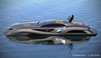 Gray Design Xhibitionist concept Superyacht 055