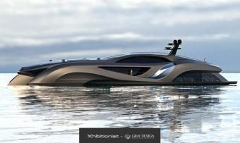 Gray Design Xhibitionist concept Superyacht 066