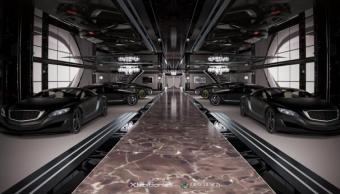 Gray Design Xhibitionist concept Superyacht 099
