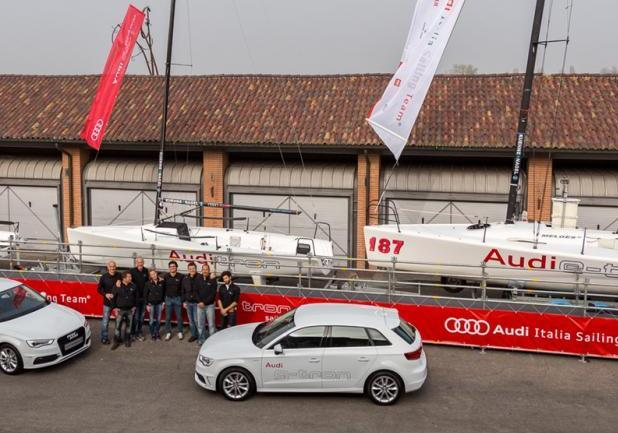 Audi tron Sailing Series 2014