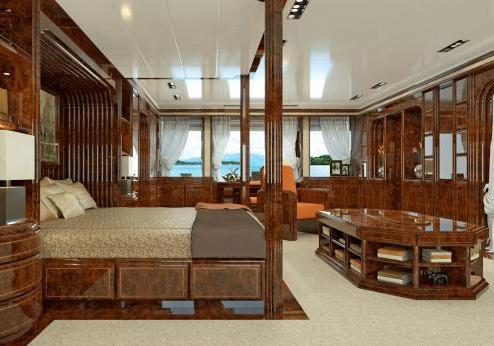 Benetti suite padronale