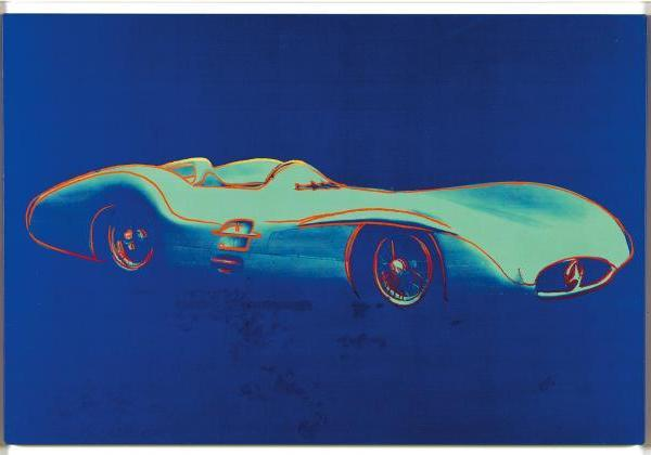 Daimler Art Collection Warhol F1Rennwstrom