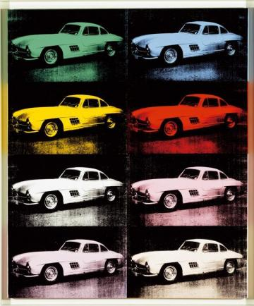 Daimler Art Collection warhol MB300SL