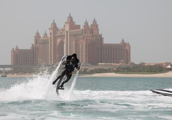 Flyboard a bassa quota