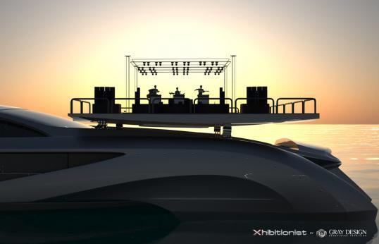Gray Design Xhibitionist concept Superyacht 033