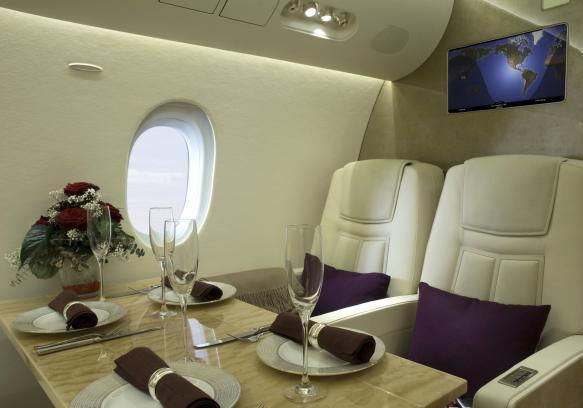 Yacht and Jet Life jet privato interno